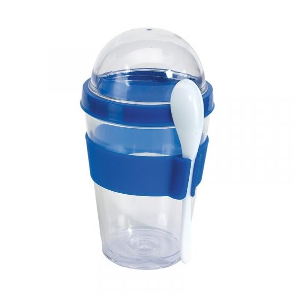 Контейнер для йогурта CEREALS синий