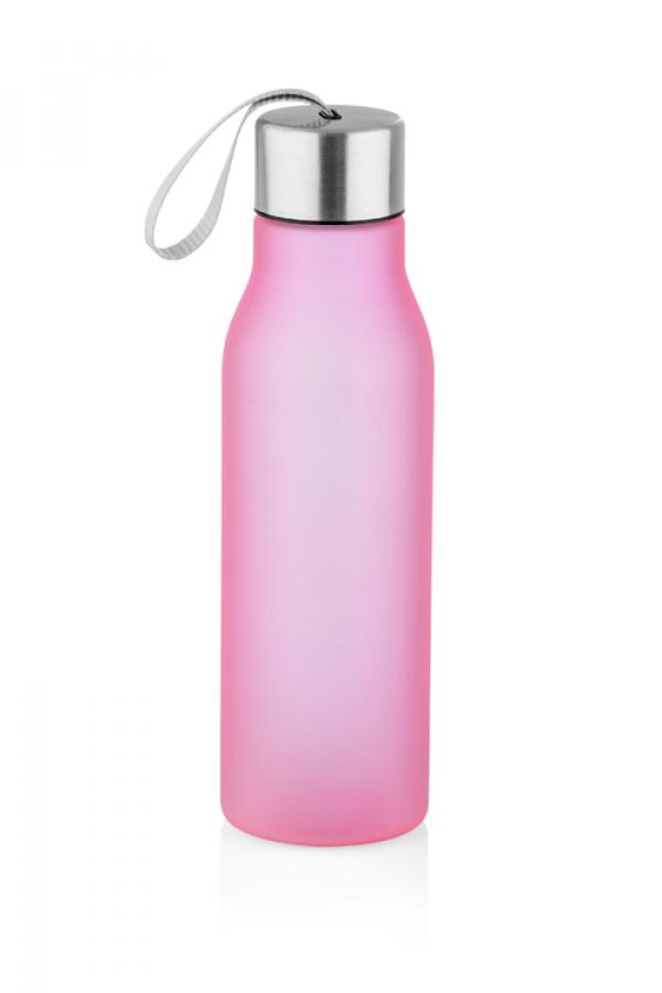Бутылка BRIN розовая