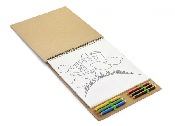 Книжка-раскраска MALOVI