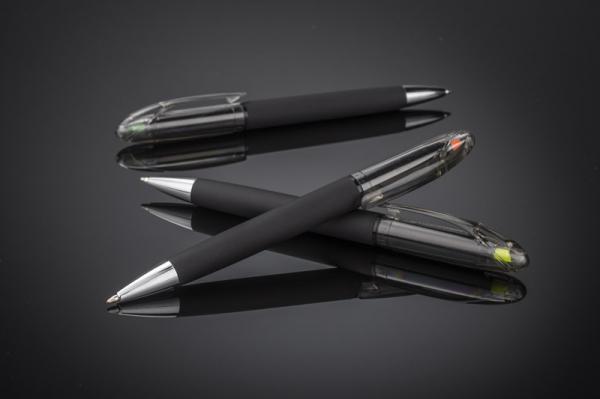 Шариковая ручка с хайлайтером HILIG