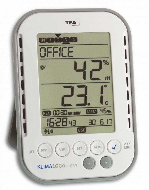 Термогигрометр KLIMALOGG PRO