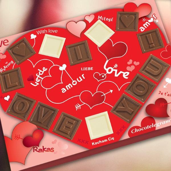 Шоколад Love