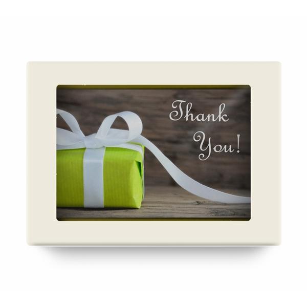 Шоколадная открытка Thank You