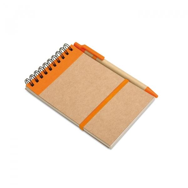 Блокнот SONORA оранжевый