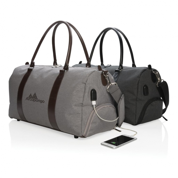 Сумка Weekend bag with USB output