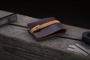 Кошелек Leaf Wallet brown