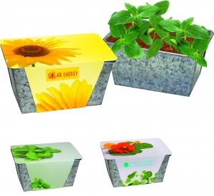 Вазон Zinc box Sun