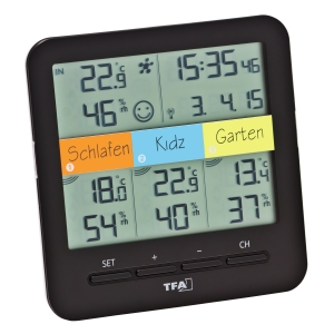 Радиоуправляемый термометр KLIMA@HOME