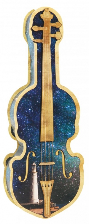 Шоколадная гитара Violin