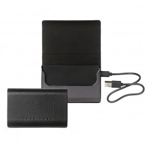 Визитница + зарядное устройство Storyline Black