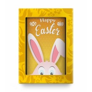 Шоколадная открытка Bunny Yellow
