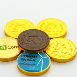 Конфеты Chocolate Coins Logo