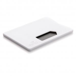 Кардхолдер с RFID блокировкой white